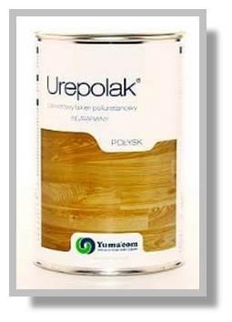 YUMACOM Lakier bezbarwny poliuretanowy - Urepolak 1L Półmat