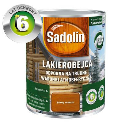 SADOLIN Lakierobejca zewnętrzna - Orzech jasny 0,75L
