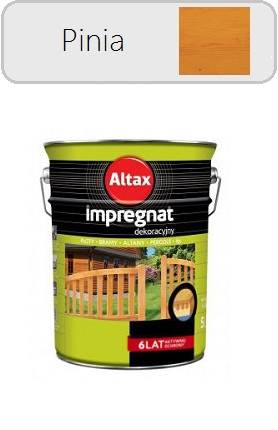 ALTAX Impregnat dekoracyjny - Pinia 4,5L