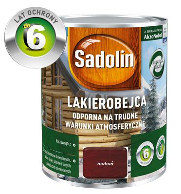 SADOLIN Lakierobejca zewnętrzna - Mahoń 0,75L