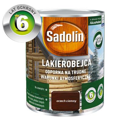 SADOLIN Lakierobejca zewnętrzna - Orzech ciemny 0,75L