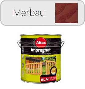 ALTAX impregnat dekoracyjny - Merbau 9L