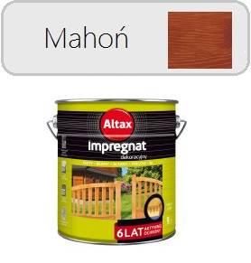 ALTAX Impregnat dekoracyjny - Mahoń 9L
