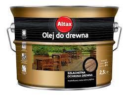 ALTAX Olej do drewna - Bezbarwny 2,5L