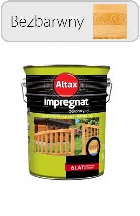 Altax Impregnat dekoracyjny - Bezbarwny 4,5L