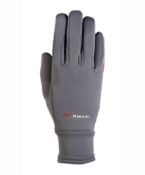Rękawiczki 624-10,5 szare polartec
