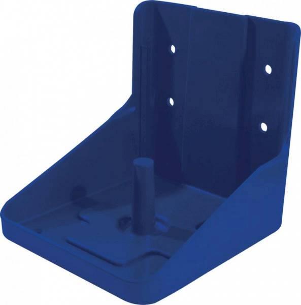 Solniczka-podstawka pod lizawkę solną niebieska