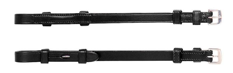 Paski policzkowe Equiline czarne