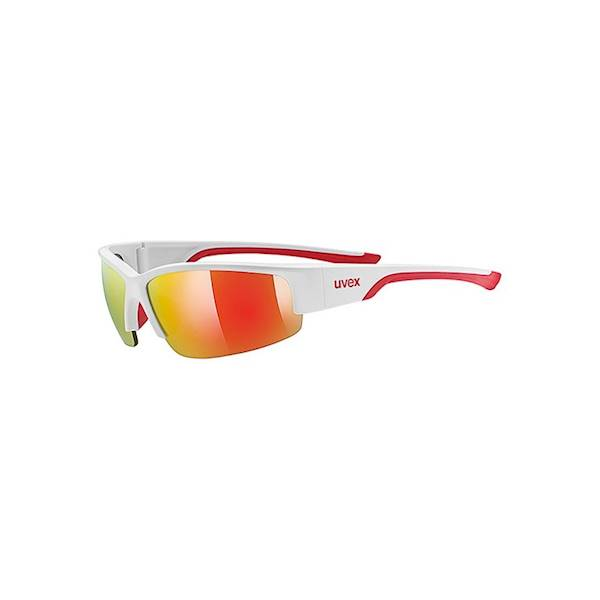 OKULARY P/SŁ. UVEX SPORTSTYLE 215 WHITE/M.RED