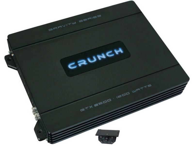 WZMACNIACZ CRUNCH GTX-2600 2-kanałowy