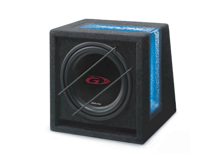 ALPINE SBG-1044BR bass-reflex