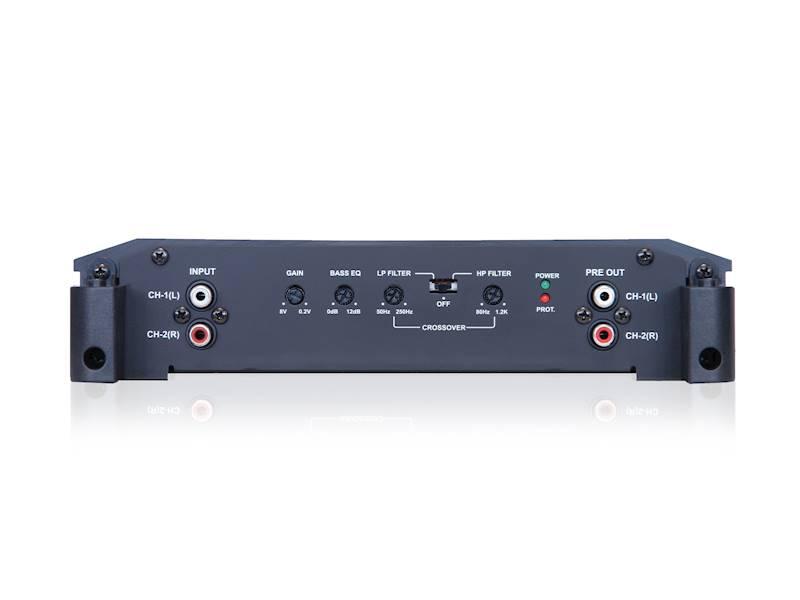 Wzmacniacz ALPINE BBX-T600 - 2-kanałowy