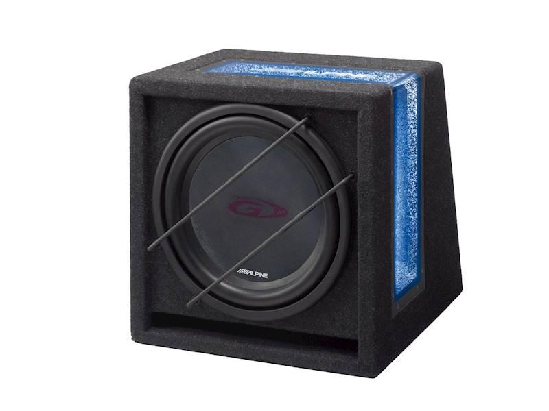 ALPINE SBG-1244BR bass-reflex