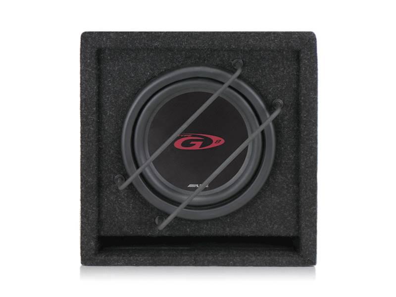 Subwoofer ALPINE SBG-844BR - głośnik 20cm, pasywny, obudowa bass-reflex
