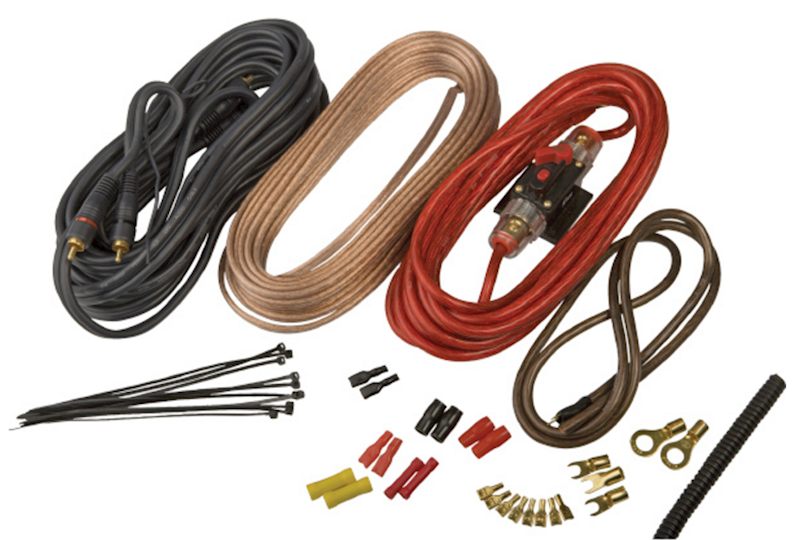 KICX PK-208 - zestaw kabli do montażu wzmacniacza