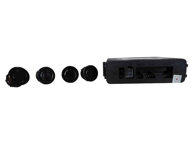 CZUJNIKI PARKOWANIA AMERVOX CZRS-4D - tył, czarne, z wyświetlaczem