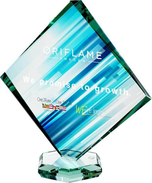 trofeum G022A wys. 23 cm LuxorJet