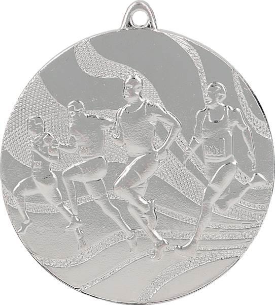 medal MMC2350 srebro - biegi