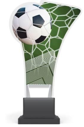 plexi CP02 piłka nożna wys. 20 cm
