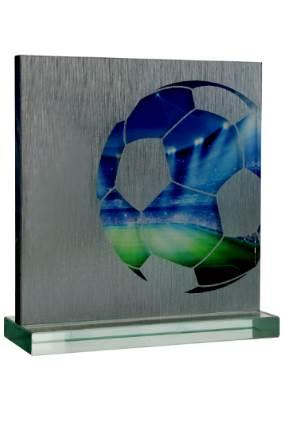 trofeum szklane G042 piłka nożna