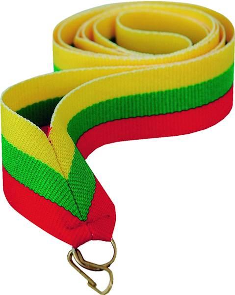 wstążka żółto/zielono/czerwona szer. 2cm