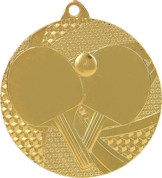 medal MMC7750 złoto tenis stołowy