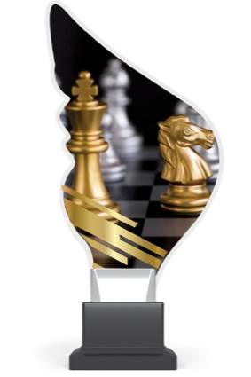 plexi CP01 szachy wys. 21 cm