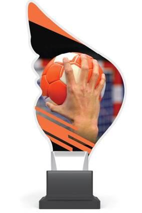 plexi CP01 piłka ręczna wys. 21 cm