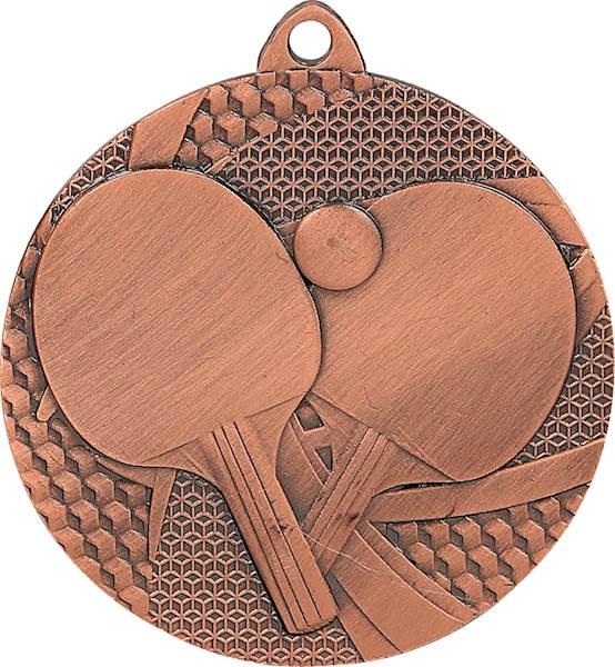 medal MMC7750 brąz tenis stołowy