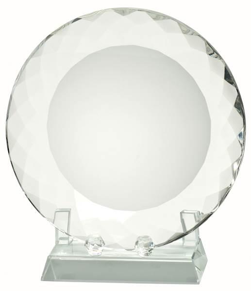trofeum szklane W643 - patera