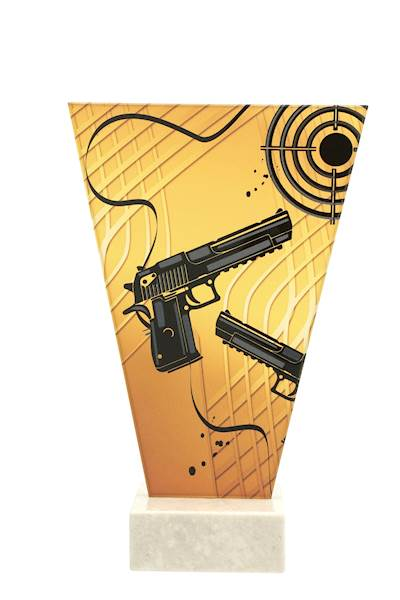 trofeum szklane Pistolet VL1-B/SHO1