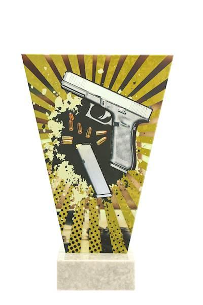 trofeum szklane Pistolet VL2-B