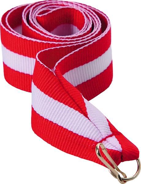wstązka czerwono/biało/czerwona szer. 2 cm