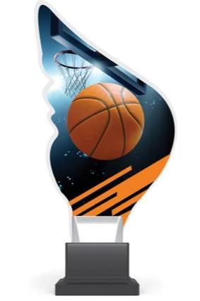 plexi CP01 koszykówka wys. 21 cm