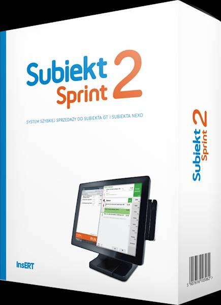 Subiekt Sprint 2 - Licencja na 1 stanowisko sprzedaży