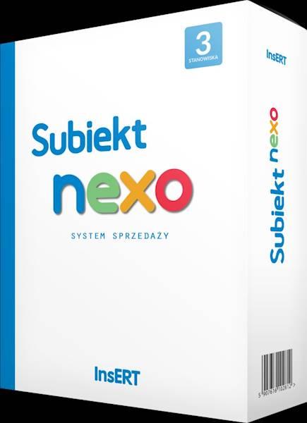Subiekt nexo - 3 stanowiska - cena specjalna dla użytkowników starszych wersji Subiekta