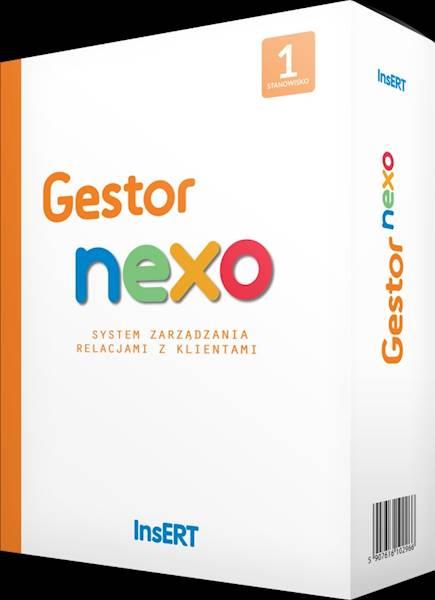 Gestor nexo - rozszerzenie na następne 3 stanowiska - cena specjalna dla użytkowników starszych wersji Gestora