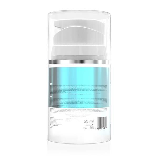 40017 Optima,  Krem aktywnie nawilżający z minerałami z Morza Martwego i kwasem hialuronowym, dzień i noc 30+, 50ml