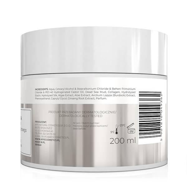 9362 Inspiration, Maska błotna do włosów z minerałami z Morza Martwego, 200 ml