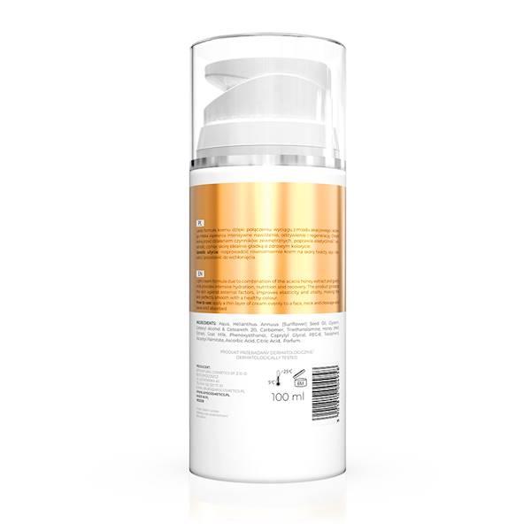 4958 Bogactwo Miodu, Nawilżający krem z miodem i kozim mlekiem, 100 ml