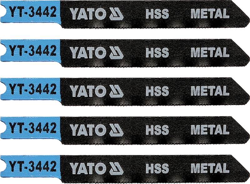 BRZESZCZOT DO WYRZ. METAL TYP U 36TPI 5SZT YT-3442 YATO