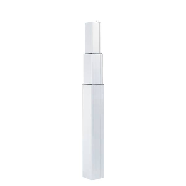 Kolumna do podnoszenia LegaDrive, 575-1250, biała