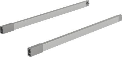 Reling wzdłużny ArciTech 500 mm kpl L+P, srebrny