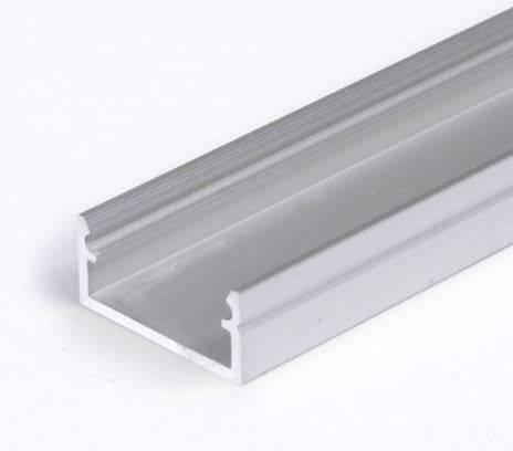 TM-profil LED Begton srebrny anodowany, klosz mleczny, 2000mm