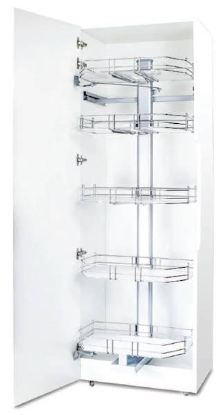 Cargo Maxi Vicino 60, 5 poziomów, H-1745, chrom