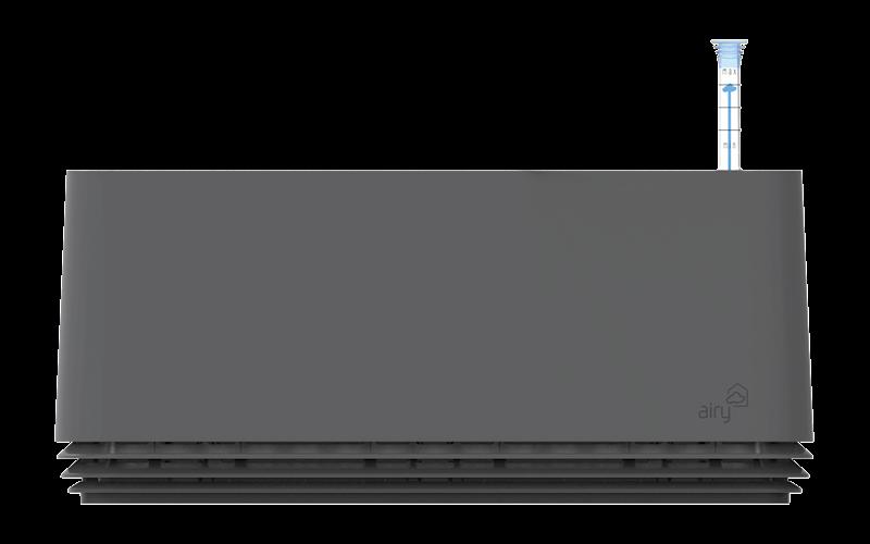 Airy box stone grey / stone grey