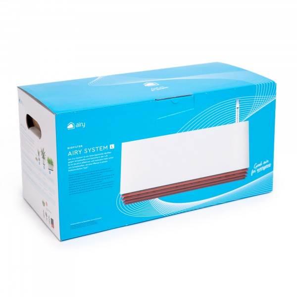 Biofiltr Airy rozmiar L kolor biały/szary