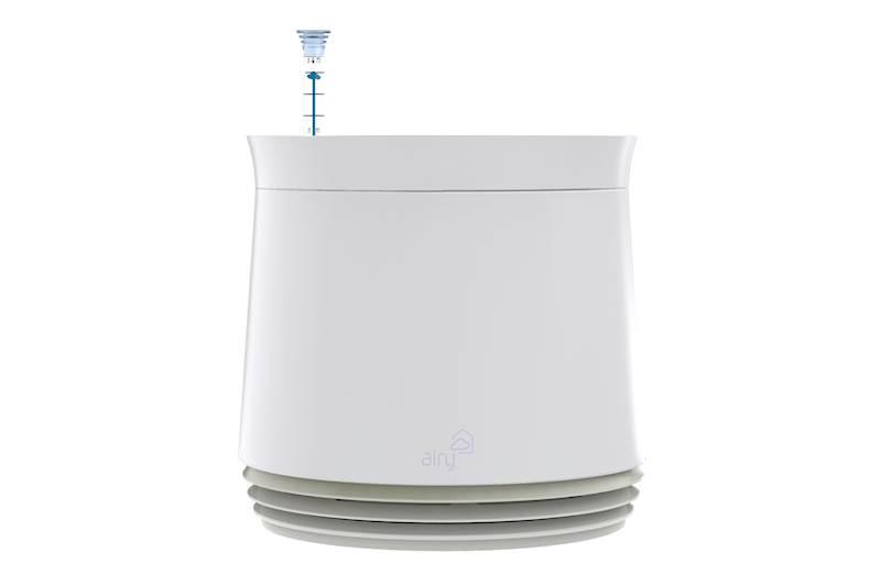 Biofiltr Airy rozmiar M kolor biały/biały
