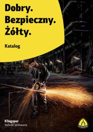 Klingspor 2018 Katalog Techniki Szlifowania