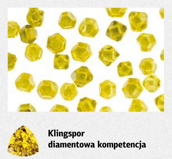 Narzędzia diamentowe Klingspor